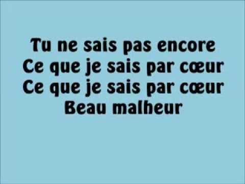 Emmanuel Moire - Beau Malheur (Paroles)