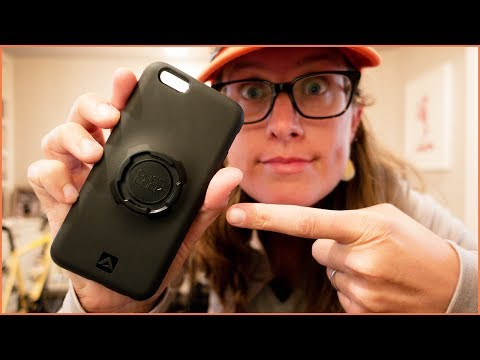 Quad Lock IPhone Case & Bike Mount Review