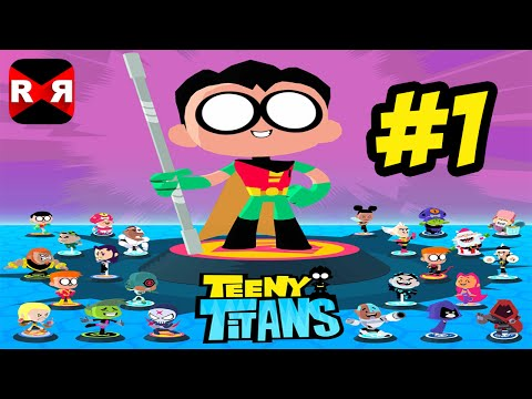 Teeny Titans (by Cartoon Network) - iOS / Android - Walkthrough Gameplay Part 1