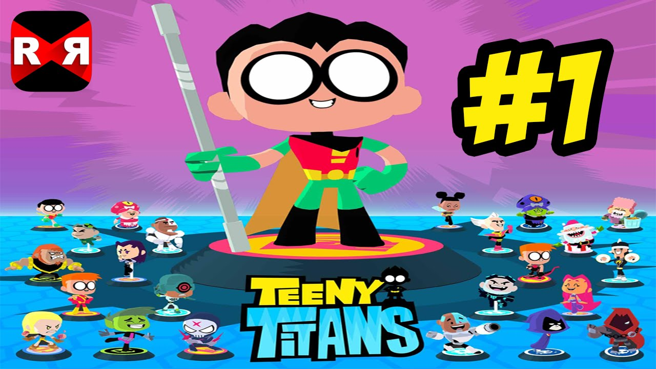 Teeny Titans (by Cartoon Network) – iOS / Android – Walkthrough Gameplay Part 1