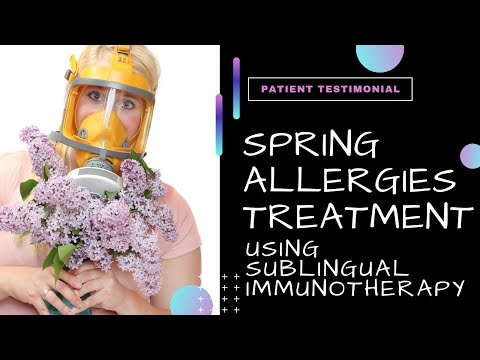 Spring Allergies Treatment   Allergist Patient Testimonial