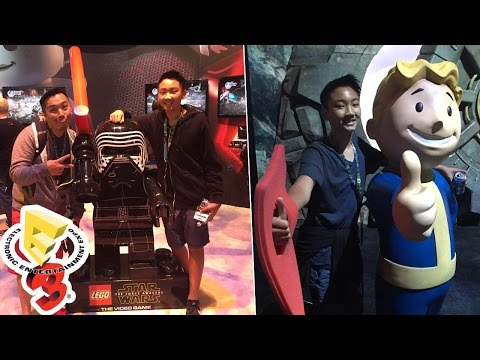 E3 Day 1 - Vlog [Electronic Entertainment Expo 2016]