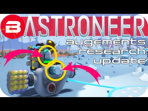 Astroneer Gameplay - AUGMENT & RESEARCH CURVE ▶NEW UPDATE◀ Lets Play Astroneer