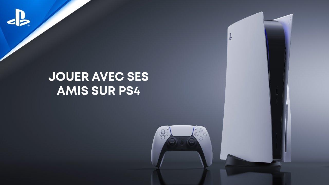 Explorer l'interface utilisateur de la PS5 - Jouer avec ses amis sur PS4