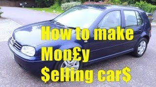 How to Make Money Selling Used Cars