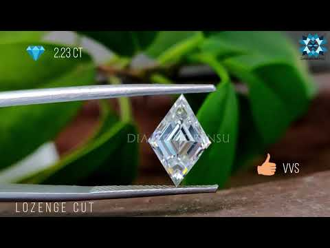 2.23-ct-lozenge-cut-colorless-loose-moissanite-|-moissanite-diamond-|-forever-one-loose-moissanite