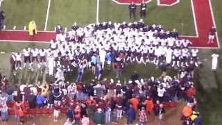Texas A&M at Arkansas End of Game AGGIE WAR HYMN Sept 28 2013