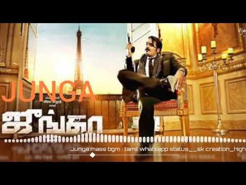 Junga Mass Entry Bgm| Vijay Sethupathi |  Whats App Status