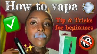How to: vape trİcks ||blow O's | french inhale | bane | Ghost | Dragon