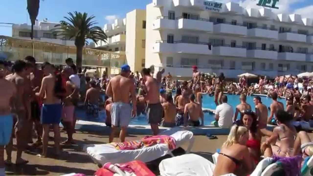 Bora Bora Ibiza And Jet Pool Party July 30 2014 Youtube