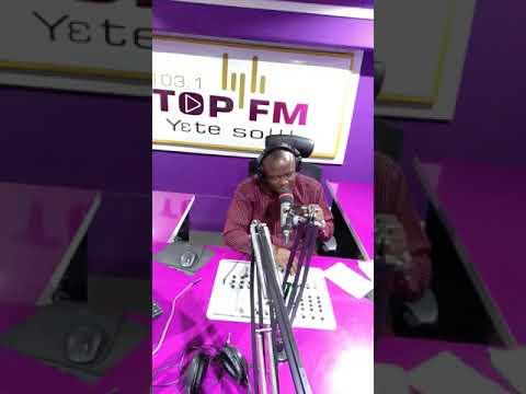 Quadri Hamzat programme on top FM Accra Ghana.