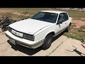 My Newest Beater - 1989 Oldsmobile Cutlass Calais