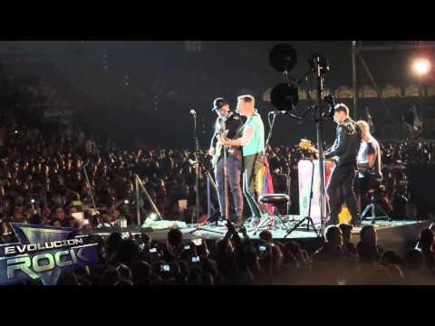 Coldplay - The Hardest Part (Abril 13, 2016 - Bogotá, Colombia)   EvolucionRock.com