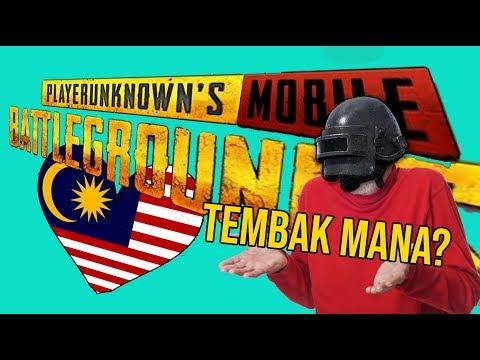 PUBGM Malaysia -Tembak mana?