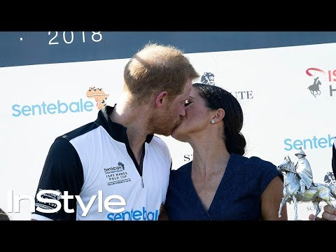 Meghan Markle Gave Prince Harry a Very Public Smooch After He Won His Charity Polo Match | InStyle
