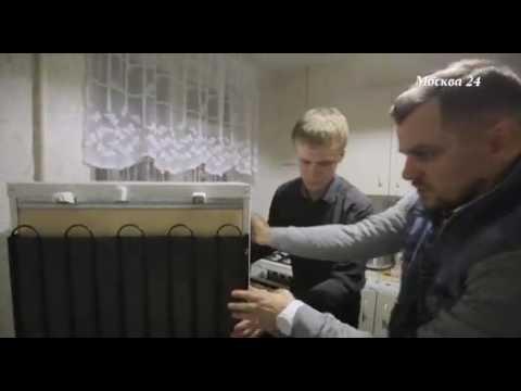 Мастер по ремонту холодильников в сюжете канала «Москва 24»