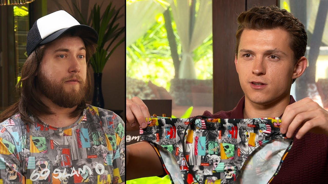 Ozzy Man & Tom Holland Interview + GUESS THE AUSSIE SLANG