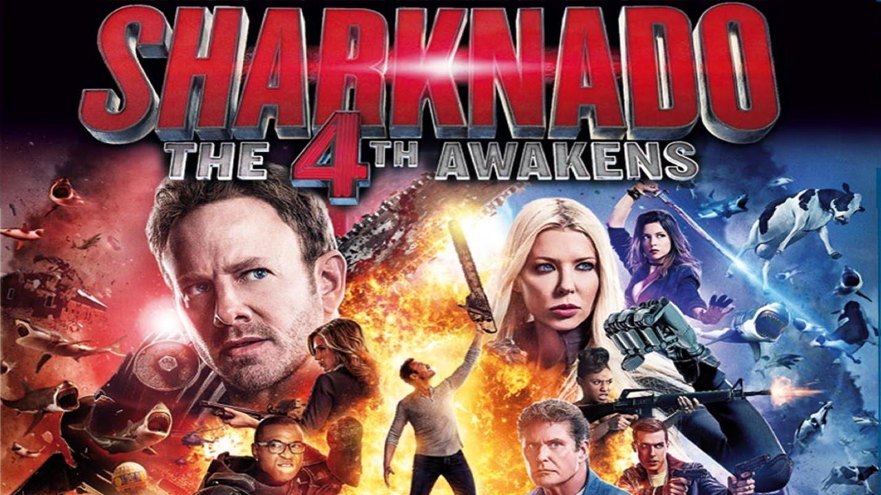 Sharknado 4 The 4th Awakens Trailer English Youtube