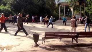 Бесплатные занятия цигун для старшего поколения