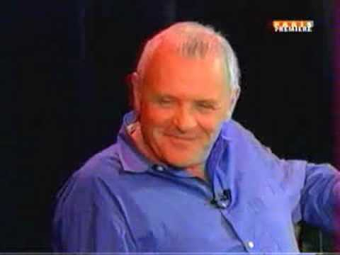Inside The actors studio-Anthony Hopkins scared the audience