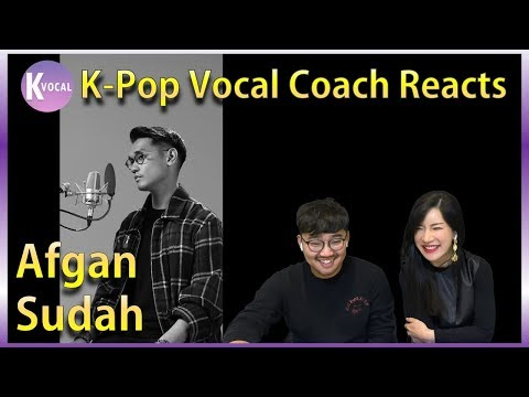 K-pop Vocal Coaches react to Afgan - Sudah