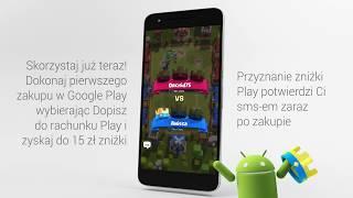 15 zł rabatu na zakupy w Google Play