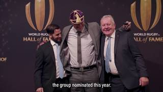 Fabien Pelous' World Rugby Hall of Fame pride thumbnail