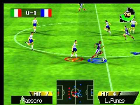 International Superstar Soccer 64 Gameplay