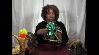 Gift Baskets - How to Make Items Stand Up Tall