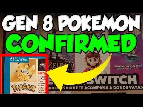 GENERATION 8 POKEMON CONFIRMED BY NINTENDO FOR POKEMON SWITCH!