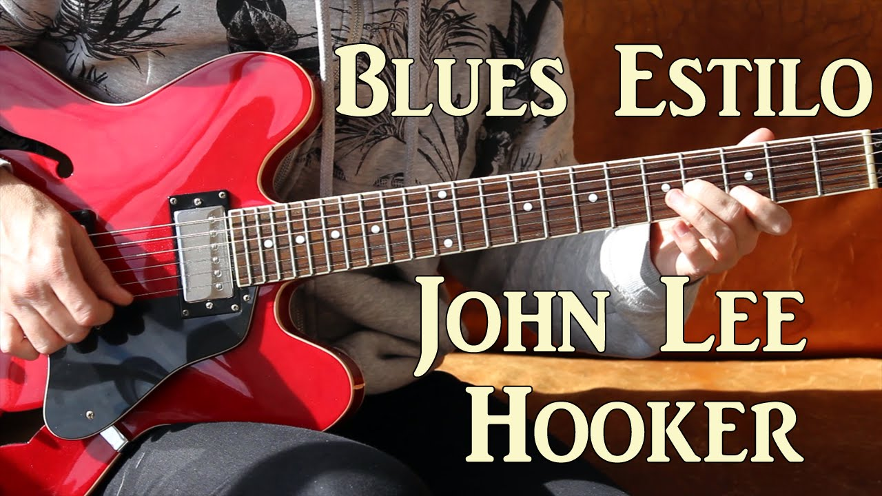 Guitarra Blues Estilo John Lee Hooker Licks Tab
