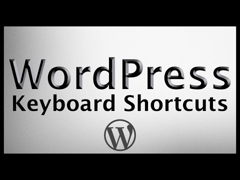 How To Blog Faster With WordPress Keyboard Shortcuts