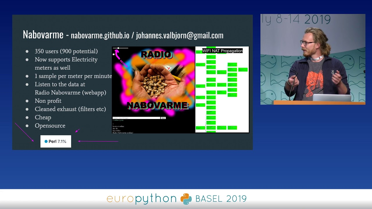 Image from EuroPython 2019 - Lightning talks on Thursday, July 11