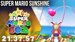 602 Speedrun in 21:37:57 - Super Mario Sunshine