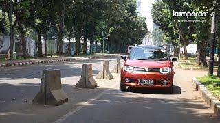 (Test Drive) Menjajal Suzuki Ignis GX Manual