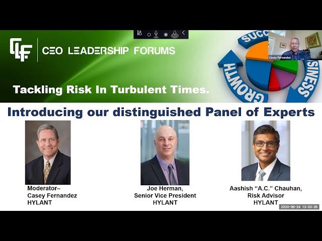 CEO Leadership Forums Webinar  -