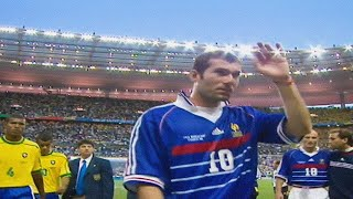 Zinedine Zidane vs Brazil (1998 World Cup Final) HD 720p