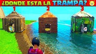 ¡5 MEJORES MUERTES POR TRAMPA EN FORTNITE! SOLO UN 0,01% DE LOS JUGADORES PUEDEN HACER ESTO
