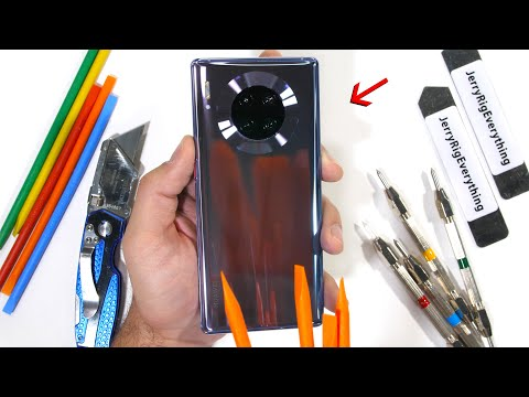 This Phone Is STILL Banned? - Mate 30 Pro Durability Test!