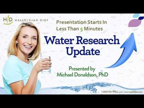 Water Research Update Webinar - July 2016