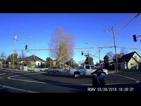 RUNNING RED LIGHT in San Jose, California