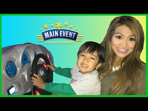 Thumbnail: Family Fun Indoor Games and Activities for kids Main Event Entertainment Fruit ninja Cars Racing