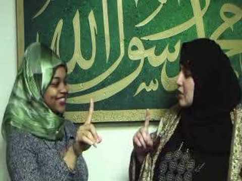 Shannon Says her Shahada (New Muslim) شانون تنطق الشهادتين