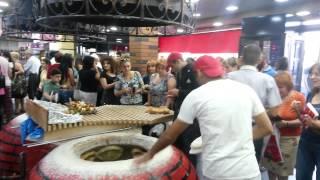 Как пекут хлеб в Апаране