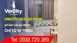 Mua nhà chung cư Vincity Ocean Park: Chỉ từ 80 triệu sở hữu nhà ngay