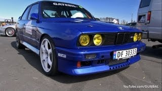 1100HP BMW E30 M3 w/ Toyota Supra Engine!