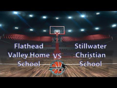 Flathead Valley HS vs Stillwater Christian School - MCAA State Tournament 2019 Boys #11