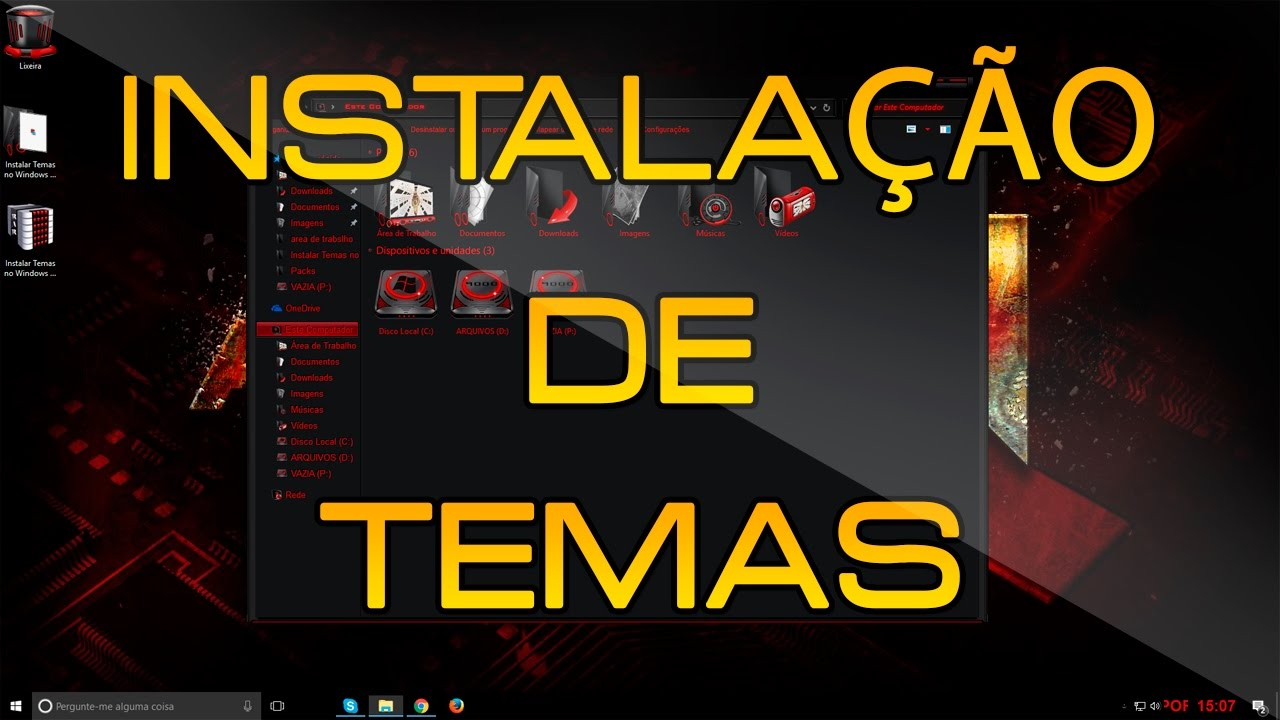 como instalar firmware pc windows 10