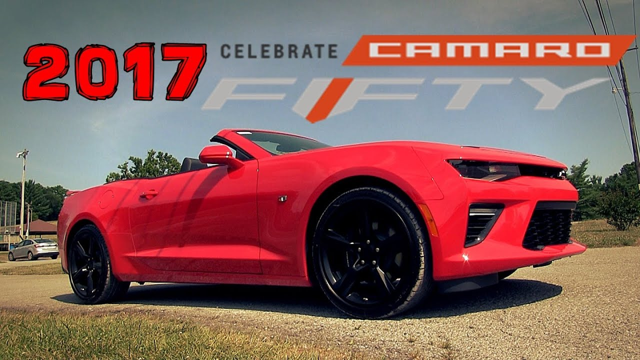 2017 chevrolet camaro 2ss convertible 50 years overview. Black Bedroom Furniture Sets. Home Design Ideas