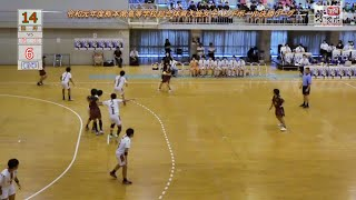 国府vs城北 令和元年度熊本県高校総体女子ハンドボール決勝リーグ6/3